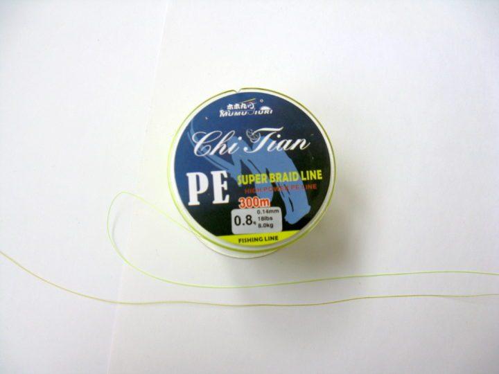 Плетёный шнур из Китая