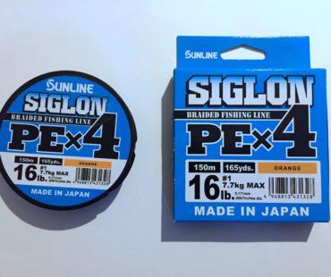 Обзор оранжевой плетёной лески Sunline Siglon PEx4 #1 7.7 кг